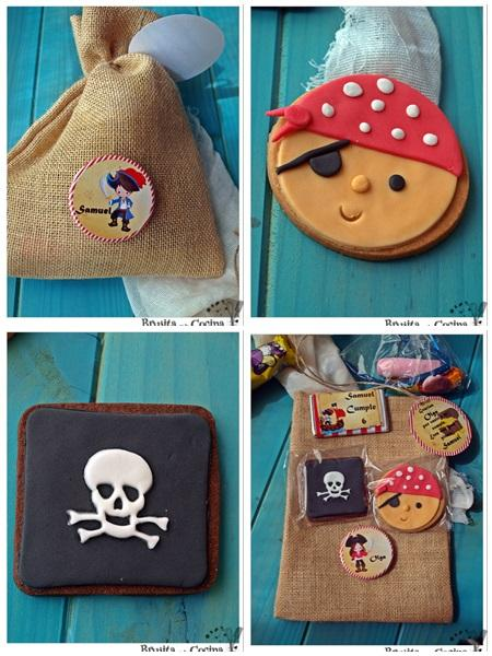 Tarta Pirata - Samuel cumple 6