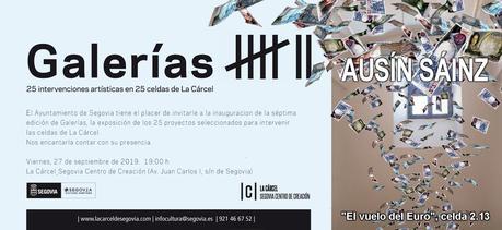 Galerías Cárcel Segovia Centro de Creación.