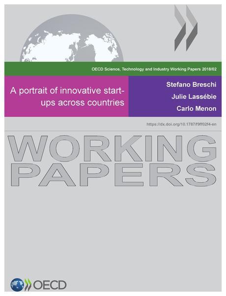 Un Informe de la OCDE sobre las Start Up Innovadoras en el Mundo