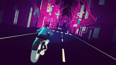 Sayonara Wild Hearts es un viaje arcade surrealista y musical muy atractivo
