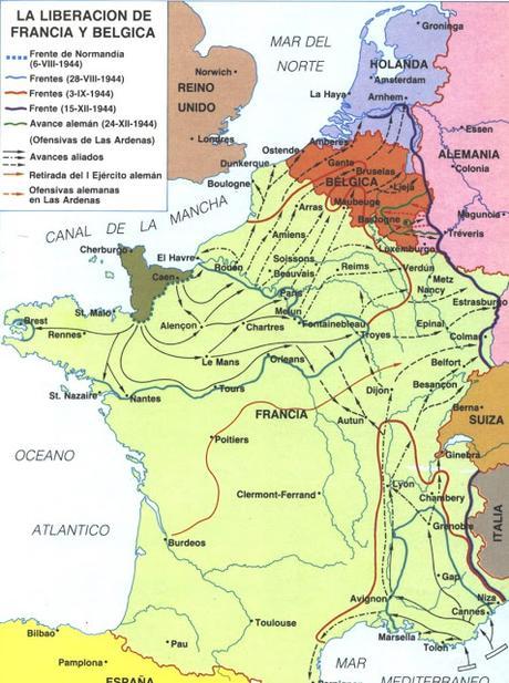 II GUERRA MUNDIAL: LA LIBERACIÓN DE PARÍS