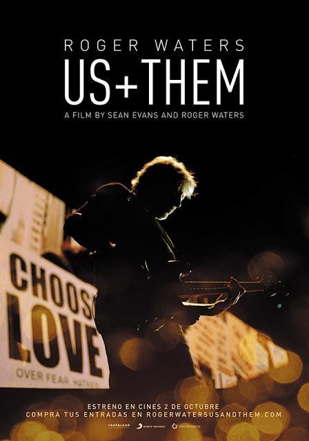 La gira 'Us+Them' de Roger Waters, en cines el 2 de octubre