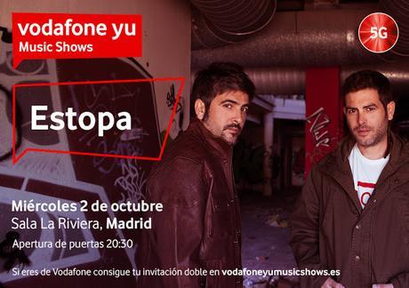Concierto gratis de Estopa para clientes de Vodafone en La Riviera madrileña