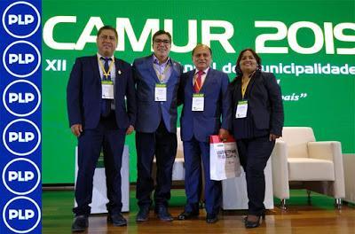 CAÑETE PRESENTE EN XII CONFERENCIA ANUAL DE MUNICIPALIDADES CAMUR 2019