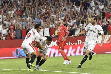 Precedentes ligueros del Sevilla FC ante el Real Madrid