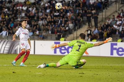 Crónica Qarabag 0 - Sevilla FC 3