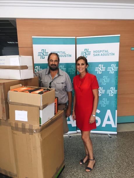 HSA dona material a la ONG Nazarena para la Esperanza