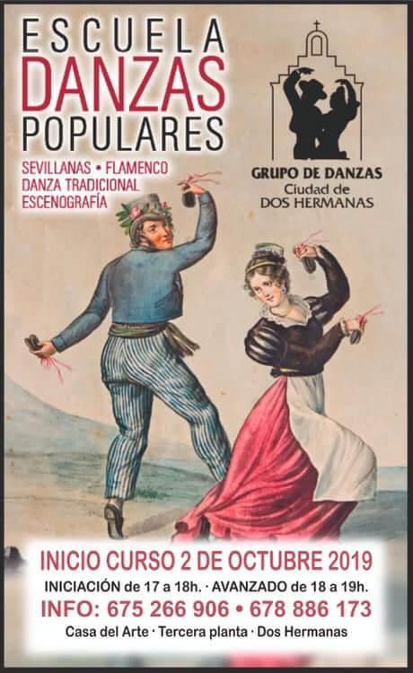 Escuelas de Danzas Populares, Curso 2019-2020