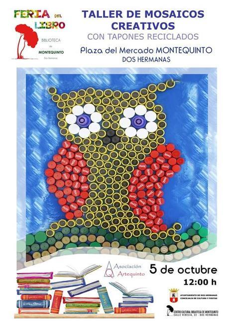 Taller de mosaico creativo con A. Artistas Plásticos Artequinto