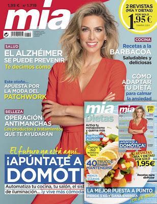 revista mia y regalo octubre 2019