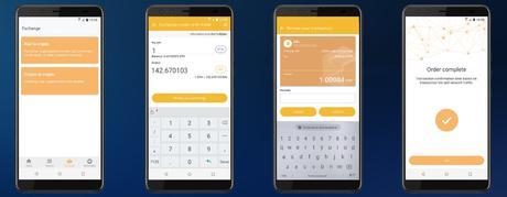 HTC Exodus 1 cómo comprar-vender bitcoins, ethereums, tokens o criptomonedas