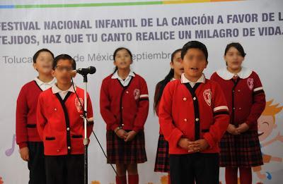 REALIZA SECRETARÍA DE SALUD FESTIVAL DE LA CANCIÓN PARA PROMOVER DONACIÓN DE ÓRGANOS Y TEJIDOS