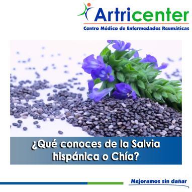 Artricenter: ¿Qué conoces de la Salvia hispánica o Chía?