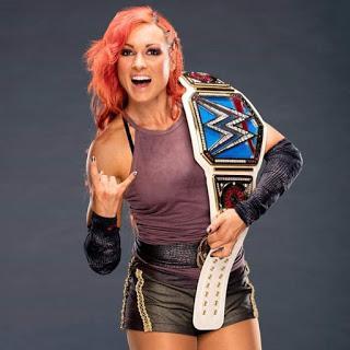 Becky Lynch  habla de ella en la WWE