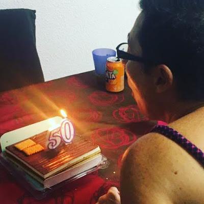 50 aniversario, mi cumpleaños