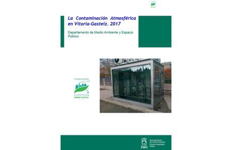 Vitoria-Gasteiz: Calidad del Aire 2017