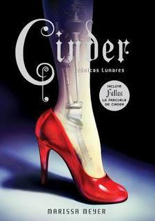 Cinder (Crónicas lunares #1) de Marissa Meyer