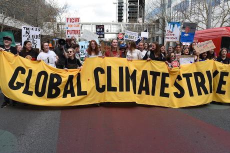 Jóvenes de todo el Planeta pasan a la acción contra la crisis climática
