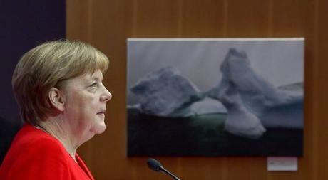 Merkel lanza un plan para la transición verde de Alemania