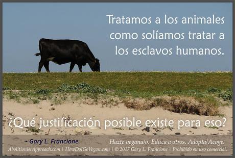 Animalismo y veganismo