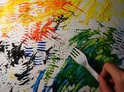 Cómo pintar tenedor