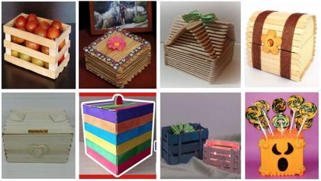 Cómo crear cuadritos decorativos con palito helado