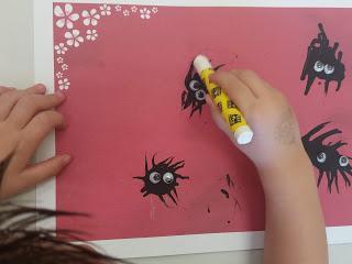 Rincón de arte: araña, arañita...
