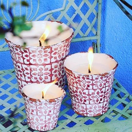 Las velas son un magnífico elemento para darle luminosida...