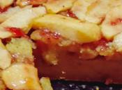 Tarta manzana cremosa fácil preparar
