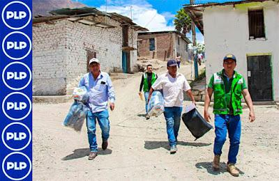 En Cajatambo: COMUNIDADES HUACAR Y HUANCAR  RECIBEN KITS DE ABRIGO...