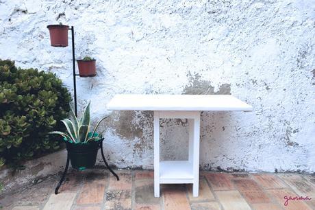 DIY: De mesa camilla a mesita de centro