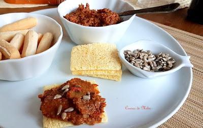 Paté de champiñones y piquillos - Champiquillo