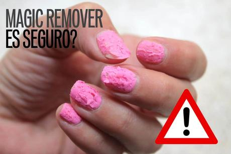 magic remover peligro es seguro