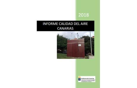 Canarias: Informe Calidad del Aire 2018