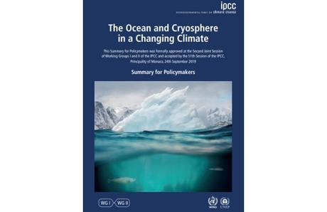 IPCC: Informe especial sobre el océano y la criosfera en un clima cambiante
