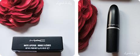 MAC, Matte Lipstick, Russian Red