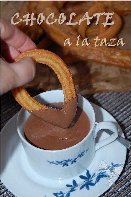 Chocolate a la taza facil, rapido y delicioso