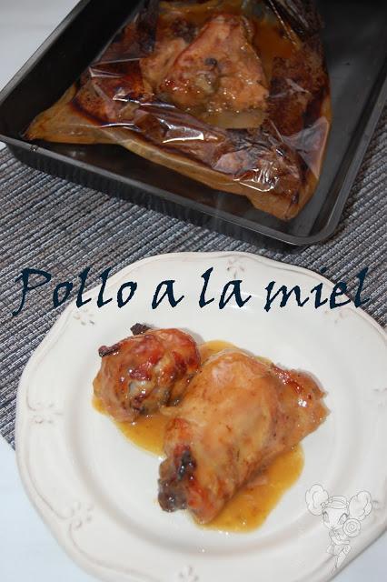 Pollo a la miel de mi cuaderno perdido