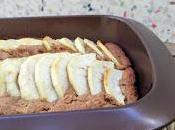 Bizcocho vegano manzana zanahoria azúcar