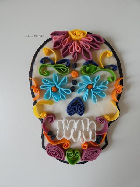 Galleta Calavera Mexicana Haloween