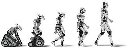 Las cinco generaciones de robots según Michael Knasel
