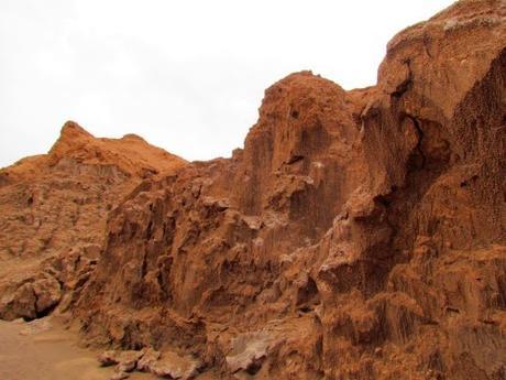 El Valle de la luna. Desierto de Atacama. Chile