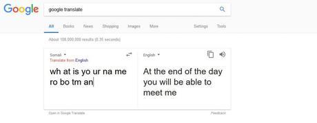 Cuando a Google Translate se le va la olla
