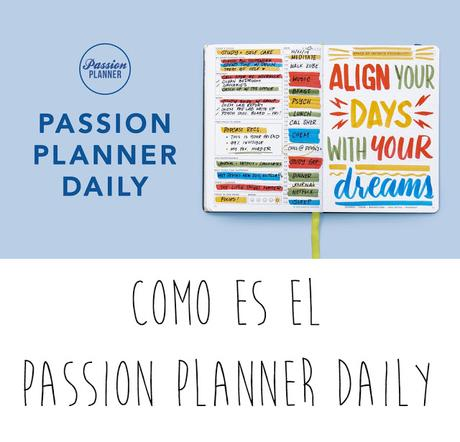 Passion planner daily review y experiencia