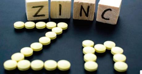 zinc como alimento esencial para el resfriado y la gripe