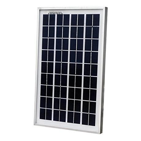 ECO-WORTHY 10W El panel solar para cargar la batería 12V