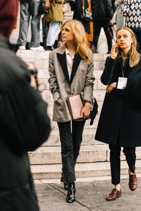 Stella McCartney Street Style Paris Fashion Week Fall Winter by Collage Vintage