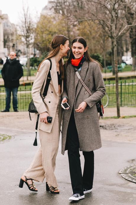 Chanel Street Style Paris Fashion Week Fall Winter by Collage Vintage