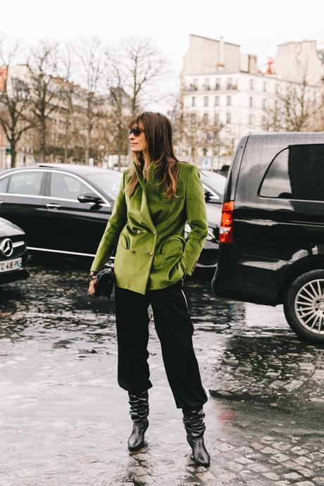 Street Style Paris Fashion Week Fall Winter by Collage Vintage