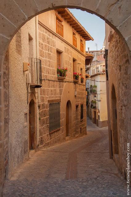Escapada comarca del Matarraña Beceite viaje Teruel pueblos bonitos